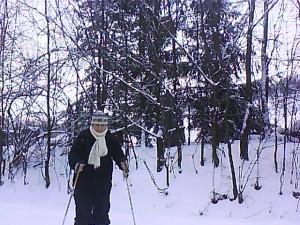 Na lyžiach